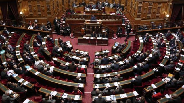 A l'intérieur du Sénat