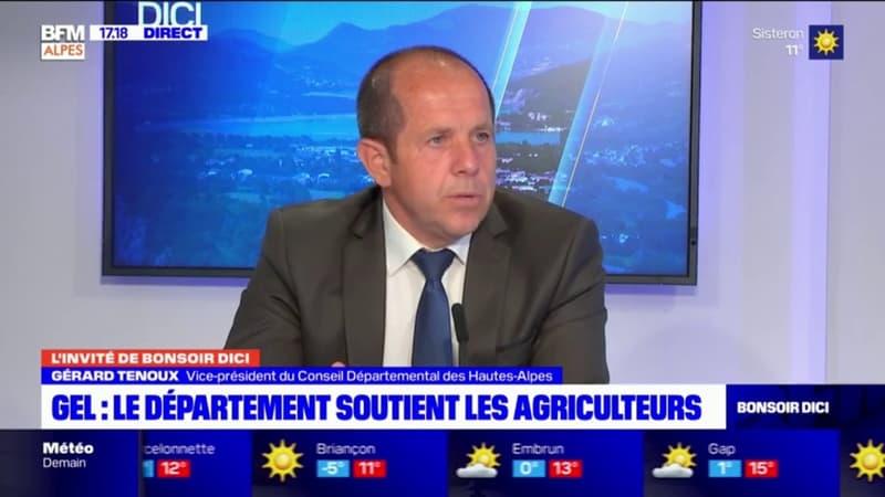 Départementales: Gérard Tenoux, vice-président des Hautes-Alpes candidat à sa réélection avec Françoise Pinet
