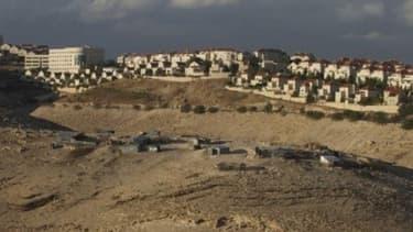 Des colonies israéliennes de Maale Adumim, près de Jerusalem.