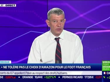 Nicolas Doze : Canal + ne tolère pas le choix d'Amazon pour le foot français - 14/06