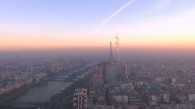 L'épisode de pollution se poursuit ce vendredi en Ile-de-France.