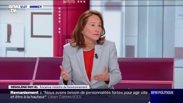 """Ségolène Royal estime que les résultats des élections municipales sont """"une sanction pour l'équipe en place"""""""