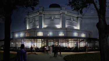 Le Théâtre Marigny a été rénové pendant cinq ans.