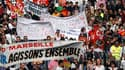 Le syndicat Unité SGP police s'élève contre le chiffrage par les autorités du nombre des manifestants contre la réforme des retraites, en particulier à Marseille (photo) où l'écart est de un à dix. La manifestation de mardi dans la cité phocéenne a réuni