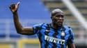 Romelu Lukaku avec l'Inter Milan