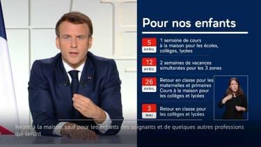 Le président de la République Emmanuel Macron a dévoilé le calendrier scolaire pour les prochaines semaines en France métropolitaine.