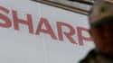 Sharp a cédé à la maison-mère du sous-traitant d'Apple.