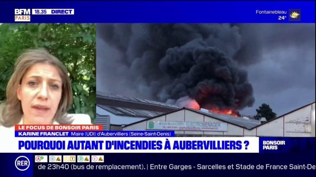 Seine-Saint-Denis: pourquoi autant d'incendies à Aubervilliers?