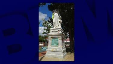 La statue de Joséphine de Beauharnais à Fort-de-France