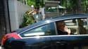 Christine Lagarde à la sortie de l'ambassade de France à Pékin. Après le Brésil et l'Inde, Christine Lagarde est actuellement en Chine dans le cadre d'une tournée mondiale visant à rallier les pays émergents à sa candidature et cette campagne est financée