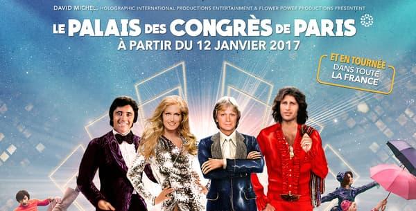 """Le spectacle """"Hit Parade"""" se jouera à partir du 12 janvier 2017 au Palais des Congrès de Paris avant de partir en tournée dans toute la France."""