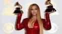 Beyoncé le 13 février à Los Angeles lors des Grammy Awards en 2017