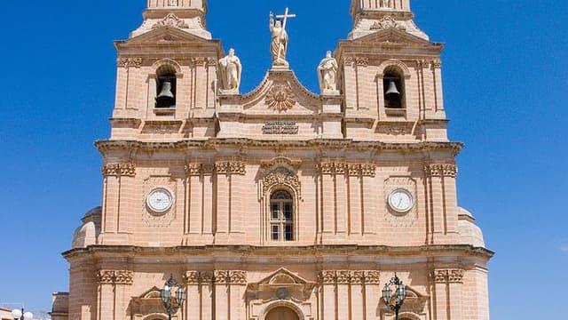 L'église Notre-Dame-de-Melheia, à Malte