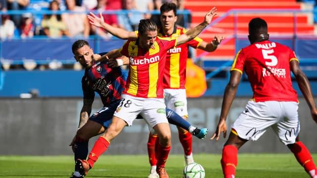Le match Caen-Lens en Ligue 2, au Stade Michel-d'Ornano le 21 septembre 2019