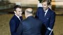 Emmanuel Macron et Julien Benneteau