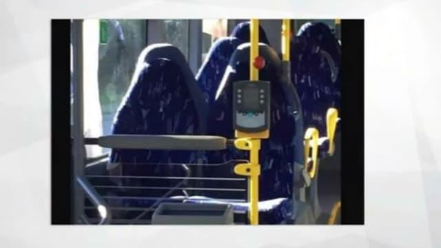 Pour certains, ces sièges de bus seraient des femmes voilées intégralement