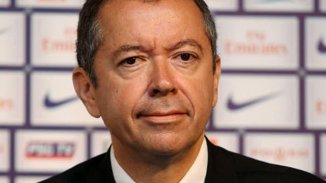 Robin Leproux, président du PSG
