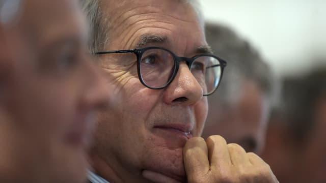 """Philippe Varin, président de Suez veut """"convaincre"""" le gouvernement """"que sur le fond, ce projet a des failles"""""""
