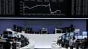 Les Bourses européennes ont clôturé en nette baisse jeudi, Mario Draghi, le président de la BCE, ayant déçu les investisseurs en n'annonçant pas de mesures immédiates pour soutenir l'économie et endiguer la crise en zone euro. /Photo prise le 2 août 2012/