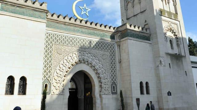 La Grande mosquée de Paris, dans le Ve arrondissement.