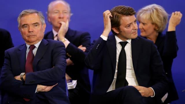 Bernard Accoyer et François Baroin.