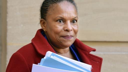 Christiane Taubira, la ministre de la Justice