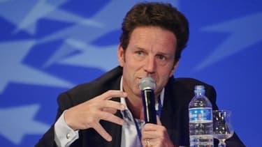 Geoffroy Roux de Bézieux a annoncé sa candidature à la tête du Medef, lundi 25 février.