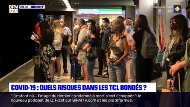 Lyon: le difficile respect des gestes barrières dans les transports en commun
