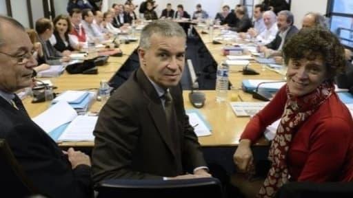 Patrick Bernasconi, ici au moment des négociations sur l'emploi le 11 janvier 2013.