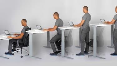 Travailler debout n'aurait que des avantages : plus de mal de dos, un sommeil de bébé moins de fatigue, et même une perte de poids.