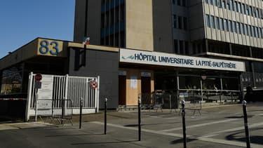 L'hôpital universitaire de la Pitié-Salpêtrière à Paris