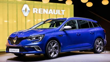 Renault a dévoilé le break Mégane au salon de Genève, et surprise, la Mégane Estate a sa version GT de 205ch.