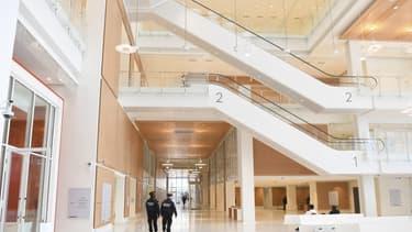Palais de justice de Paris, conçu par Renzo Piano.