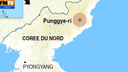 La Corée du Nord a procédé à son troisième essai nucléaire dans le nord du pays