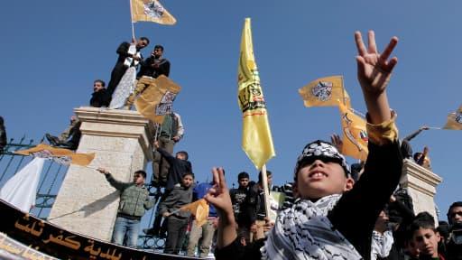 L'anniversaire du Fatah n'avait pas été célébré depuis 2007.