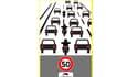 Des nouveaux panneaux pour l'expérimentation de la circulation inter-files