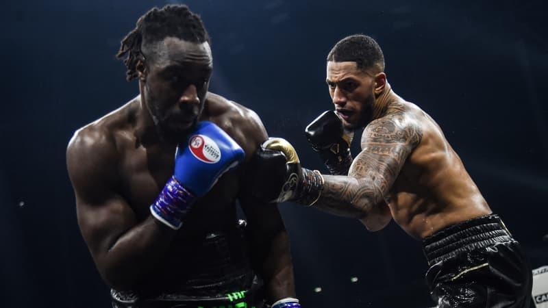 Boxe: première ceinture pour Yoka, vainqueur par KO de Big Joe