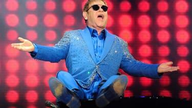 Elton John en septembre 2015à Rio de Janeiro.
