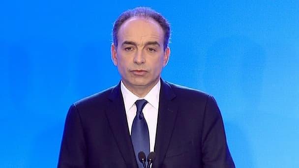 Jean-François Copé a donné une conférence de presse, ce vendredi 29 mars, au siège de l'UMP, à Paris.
