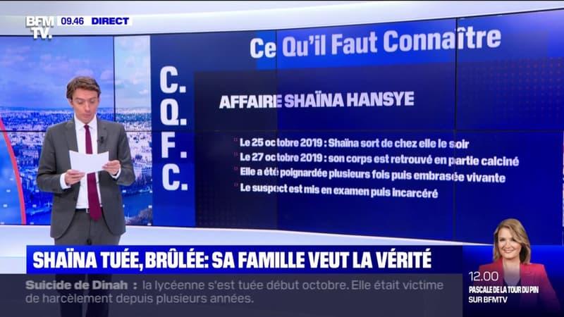 Shaïna tuée, brûlée: sa famille veut la vérité