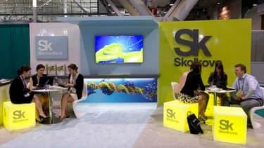 La fondation Skolkovo fait la promotion de la technopole à l'étranger.
