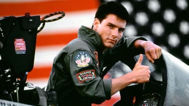 Tom Cruise dans Top Gun