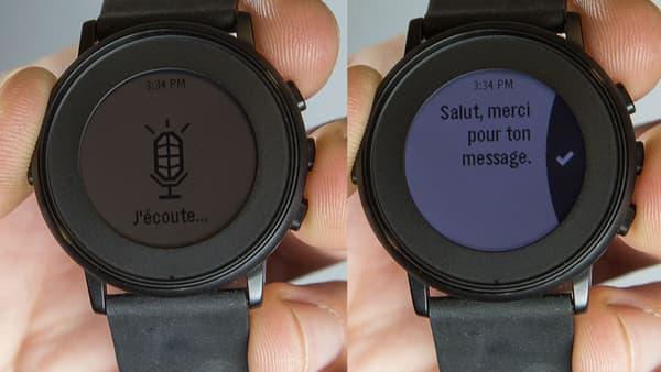 La reconnaissance vocale de Time Round est très pratique