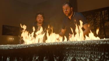 Eric et Quentin dans Bad Buzz