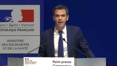 Olivier Véran, ministre des Solidarités et de la Santé, 26 février 2020.