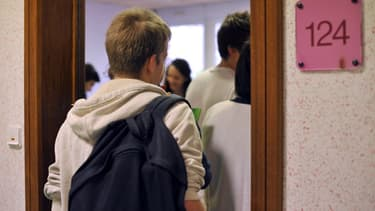 Des lycéens (Photo d'illustration).