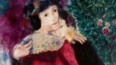 Les Amoureux constituent un tableau fort de Marc Chagall