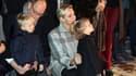 Le prince Albert II de Monaco, son épouse la princesse Charlène et leurs enfants en janvier 2018