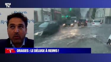 Story 1 : Orages, le déluge à Reims - 04/06