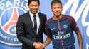 Nasser Al-Khelaïfi et Neymar